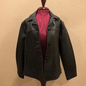 NWT The Territory Ahead Women's Leather Jacket